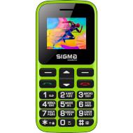 Мобильный телефон SIGMA MOBILE Comfort 50 Hit 2020 Green