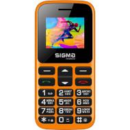 Мобильный телефон SIGMA MOBILE Comfort 50 Hit 2020 Orange