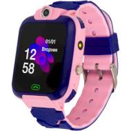 Часы-телефон детские ATRIX iQ2400 IPS Cam Flash Pink (IQ2400 PINK)