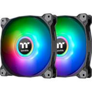Комплект вентиляторов THERMALTAKE Pure Duo 12 ARGB Sync Black 2-Pack (CL-F115-PL12SW-A)
