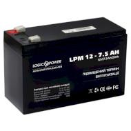 Аккумуляторная батарея LOGICPOWER LPM 12 - 7.5 AH (12В 7.5Ач)