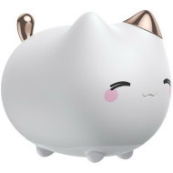 Ночник BASEUS Cute Series Kitty Silicone Night Light White (DGAM-A02)