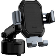 Автодержатель для смартфона BASEUS Tank Gravity Car Mount Holder with Suction Base Black (SUYL-TK01)