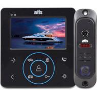 Комплект видеодомофона ATIS AD-480M Black + AT-380HR Black