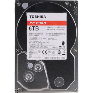 "Жорсткий диск 3.5"" TOSHIBA P300 Bulk 6TB SATA/128MB (HDWD260UZSVA)"