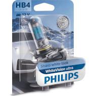Лампа галогенная PHILIPS WhiteVision Ultra HB4 1шт (9006WVUB1)