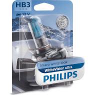 Лампа галогенова PHILIPS WhiteVision Ultra HB3 1шт (9005WVUB1)