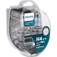 Лампа галогенная PHILIPS X-tremeVision Pro150 H4 2шт (12342XVPS2)