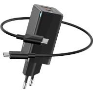 Зарядное устройство BASEUS GaN Mini Quick Charger Black