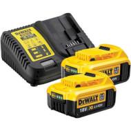 Зарядное устройство с АКБ DEWALT DCB115P2 + 2 акк. DCB184 5Ah