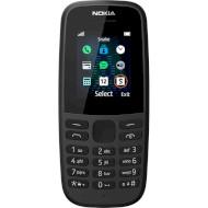Мобильный телефон NOKIA 105 (2020) Black