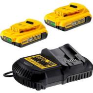 Зарядное устройство с АКБ DEWALT DCB115D2 + 2 акк. DCB183 2.0Ah