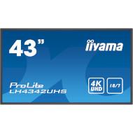 """Информационный дисплей LFD 42.5"""" IIYAMA ProLite LH4342UHS-B1"""