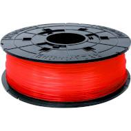 Пластиковый материал (филамент) для 3D принтера XYZPRINTING PLA 1.75mm Transparent Red (RFPLCXEU0JB)