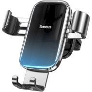 Автодержатель для смартфона BASEUS Glaze Gravity Car Mount Black (SUYL-LG01)