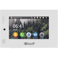 IP видеодомофон BAS-IP AT-07L Silver