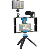 Набір блогера PULUZ 4-in-1 Vlogging Live Broadcast PKT3023