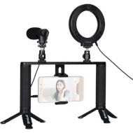 Набор влогера PULUZ 4-in-1 Vlogging Live Broadcast PKT3028