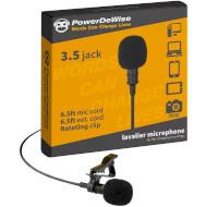 Мікрофон петлічний POWERDEWISE Lavalier Lapel Microphone (PDW-1)