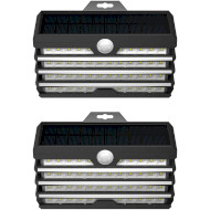 Уличный светильник BASEUS Energy Collection Series Solar Energy Human Body Induction Wall Lamp 2pcs (DGNEN-D01)