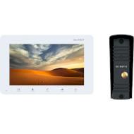 Комплект відеодомофона SLINEX SM-07MN White + ML-16HR Black
