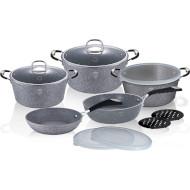 Набор посуды BERLINGER HAUS Stone Touch Line 13пр (BH-6176)