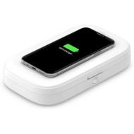 Дезінфектор ультрафіолетовий з бездротовою зарядкою BELKIN Boost Up Charge UV Sanitizer + Wireless Charger 18W (WIZ011BTWH)