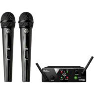 Микрофонная система AKG WMS40 Mini Dual Vocal Set Band-US25-B/D
