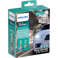 Лампа светодиодная PHILIPS Ultinon Pro5000 HL HB3/HB4 2шт (11005U50CWX2)