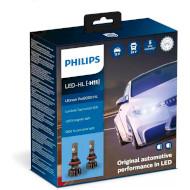 Лампа светодиодная PHILIPS Ultinon Pro9000 HL H11 2шт (11362U90CWX2)