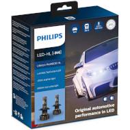 Лампа светодиодная PHILIPS Ultinon Pro9000 HL H4 2шт (11342U90CWX2)