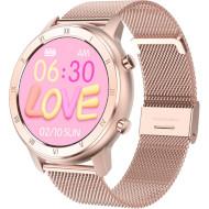 Смарт-часы NO.1 DT89 Metal Rose Gold