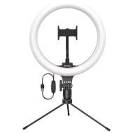 Кільцева LED лампа BASEUS Live Stream Holder Table Stand (CRZB10-A01)