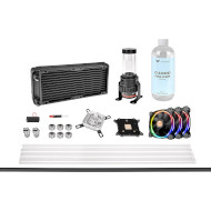 Набор для сборки СВО THERMALTAKE Pacific M240 D5 Hard Tube Water Cooling Kit (CL-W216-CU00SW-A)