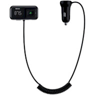 FM-трансмиттер BASEUS T-typed S-16 Wireless MP3 Car Charger Black (CCTM-E01)
