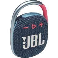 Портативная колонка JBL Clip 4 Blue/Pink (JBLCLIP4BLUP)