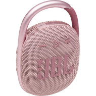Портативная колонка JBL Clip 4 Pink (JBLCLIP4PINK)