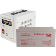 ИБП LOGICPOWER 500 + гелевая батарея 900W (LP9831)