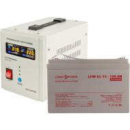 ИБП LOGICPOWER 800 + гелевая батарея 1400W (LP9832)