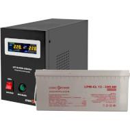 ИБП LOGICPOWER B1000 + гелевая батарея 2700W (LP5870)