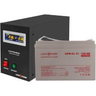 ИБП LOGICPOWER B800 + гелевая батарея 1400W (LP9829)