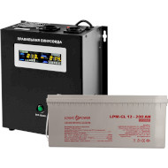 ИБП LOGICPOWER W1000 + гелевая батарея 2700W (LP5869)