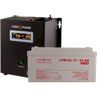 ИБП LOGICPOWER W500 + гелевая батарея 900W (LP5867)