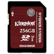 Карта памяти KINGSTON SDXC 256GB UHS-I U3 (SDA3/256GB)