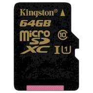 Карта памяти KINGSTON microSDXC 64GB UHS-I Class 10 (SDCA10/64GBSP)