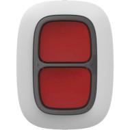 Бездротова тривожна кнопка AJAX DoubleButton White