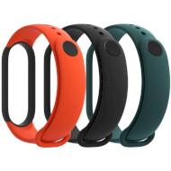 Набір ремінців XIAOMI для Xiaomi Mi Smart Band 5 Black/Orange/Green