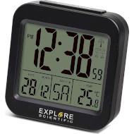 Будильник EXPLORE SCIENTIFIC Compact RC Alarm Black (RDC1008CM3000)