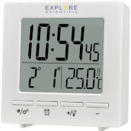 Будильник EXPLORE SCIENTIFIC Mini RC Alarm White (RDC1005GYELC2)
