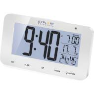 Будильник EXPLORE SCIENTIFIC RC Alarm White